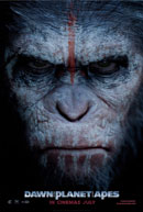 Afiche El Amanecer Del Planeta De Los Simios (Dawn Of The Planet Of The Apes -2014)